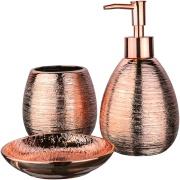 Jogo de Banheiro em Cerâmica 3 Peças - Bianchini
