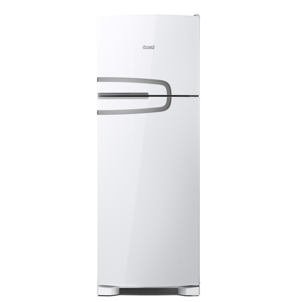 GeladeiraRefrigerador Consul Frost Free Duplex 340L Branco 220V - CRM39ABBNA