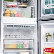 Geladeira/Refrigerador Consul Frost Free Inverse 397L 220V Inox - CRE44AKBNA