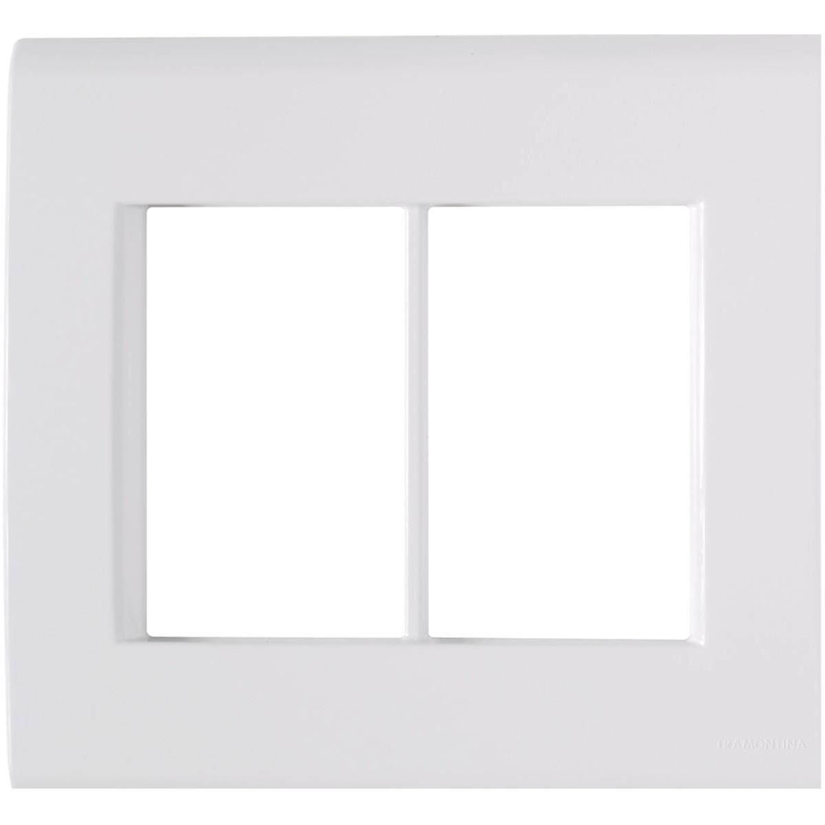 Placa 4 x 4 6 Postos - Liz - Tramontina