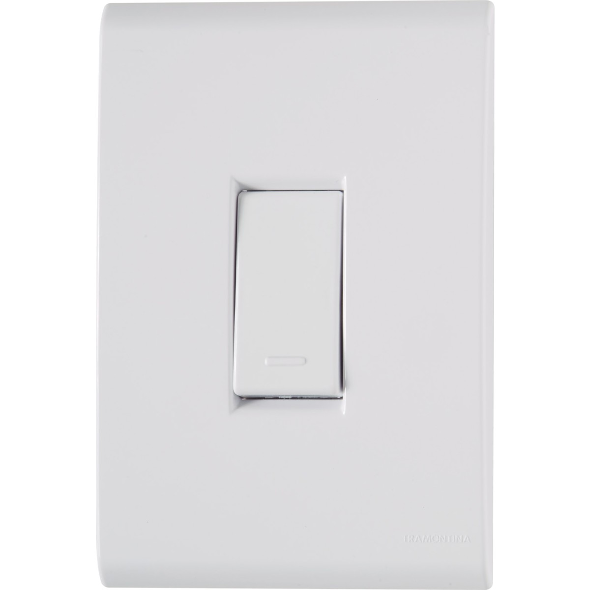 Conjunto Interruptor Simples 1 Modulo 10A - Liz - Tramontina