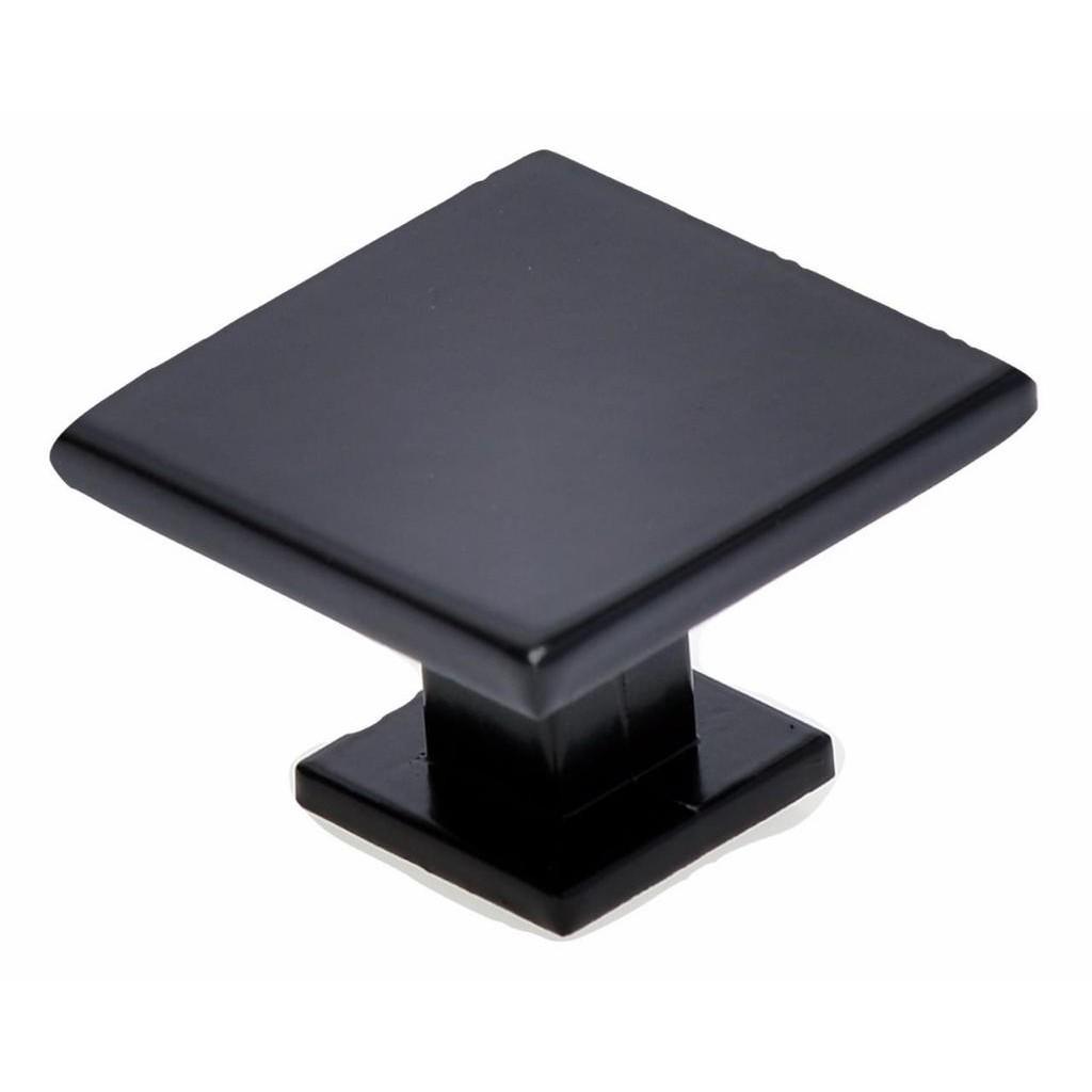 Puxador para Moveis Quadrado Preto Fosco 45mm - Hastvel