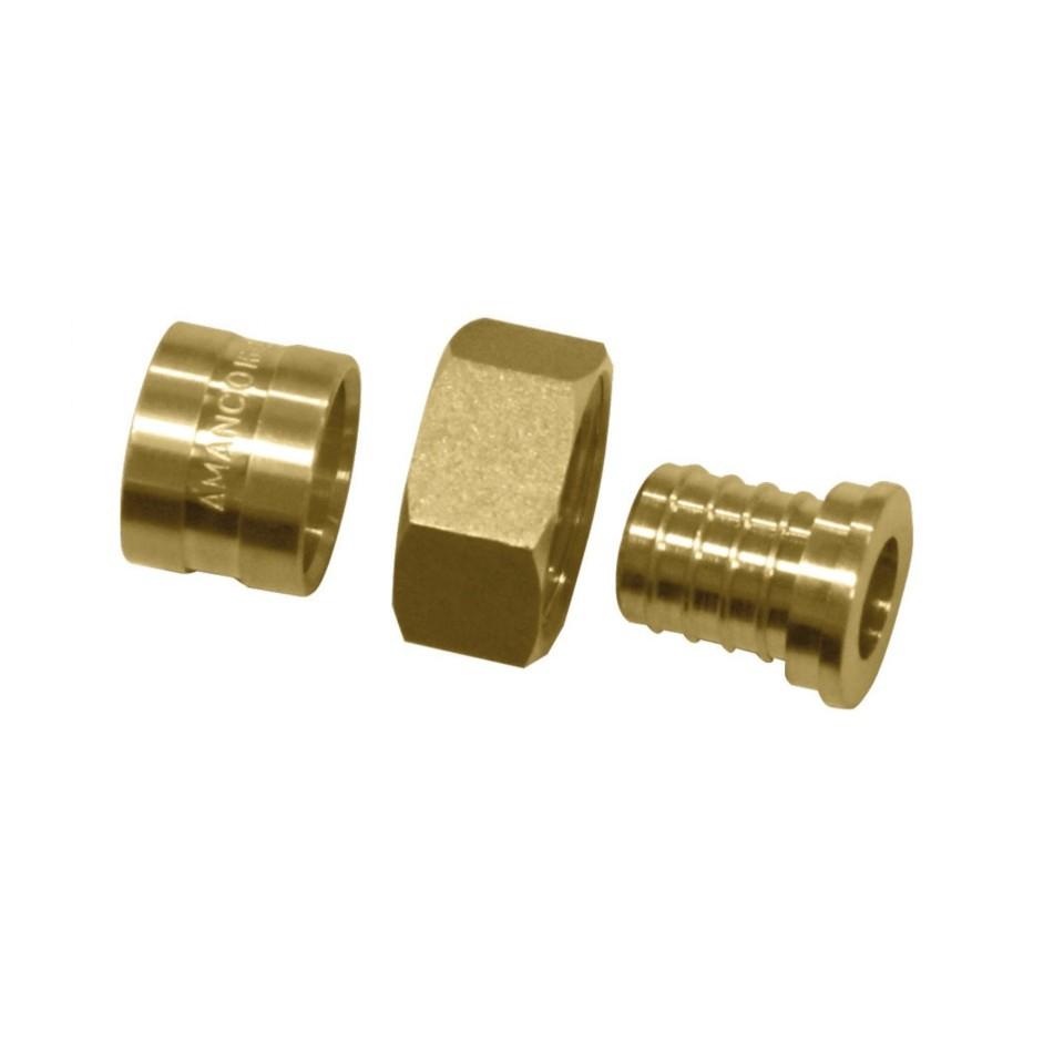 Conector Metal 25 mm Pex 18263 - Amanco