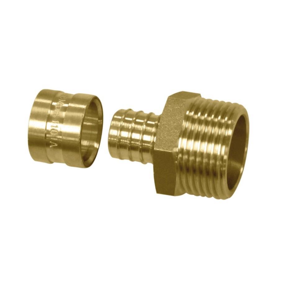 Uniao Metal 20 mm Pex 97453 - Amanco