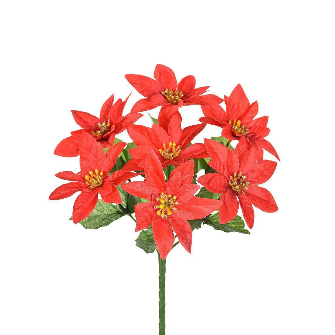 Bouquet Bico de Papagaio 24 cm Vermelho - 44511-009