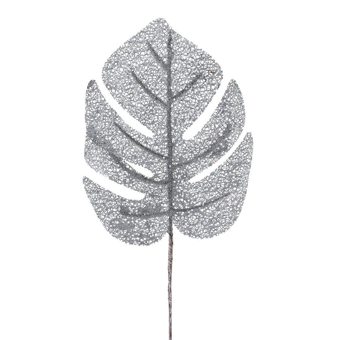 Haste Natalina 57 cm Costela de Adao Prata - 16369-151