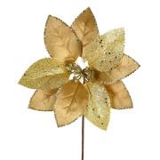 Pick Natalino Bico de Papagaio 30cm com Glitter Dourado 47646-152