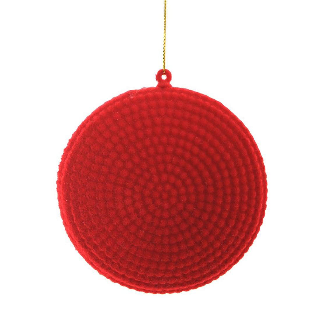 Enfeite de Arvore Natalina Neon Vermelho - 34783-009