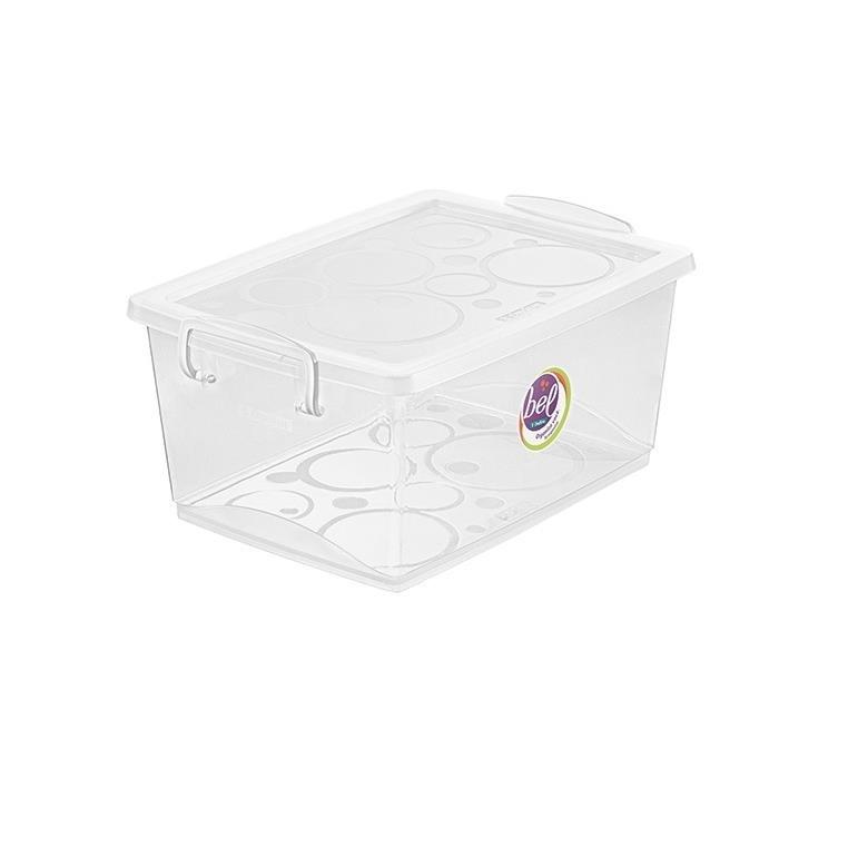 Caixa Organizadora Bel 4L Incolor OR80300 - Ordene