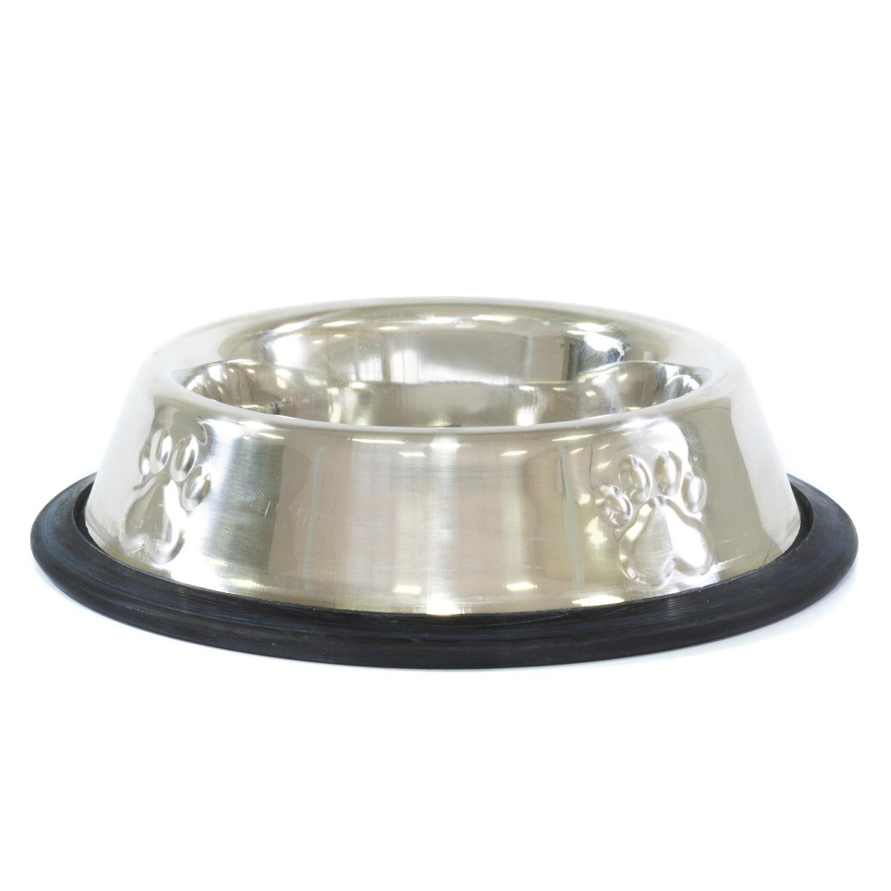 Comedouro PET 240 ml Inox - The Pets
