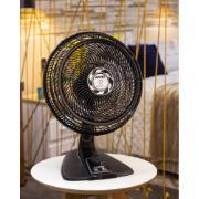 Ventilador de Mesa Arno Ultra Silence Force 40cm VU40 Preto 127V 3 Velocidades