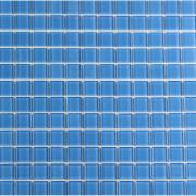 Pastilha de Vidro Brilhante 2,3x2,3cm Azul - VT0320C0034 - Vetromani
