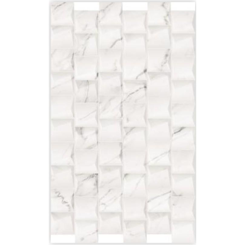 Revestimento Tipo A 35x59 cm Esmaltado Poliedros Calacata - RVE35260 - Incenor