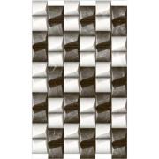 Revestimento Tipo A 35x59 cm Esmaltado Poliedros Blackwhite - RVE35290 - Incenor