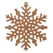 Enfeite de Árvore de Natal Floco de Neve 10cm - Dea
