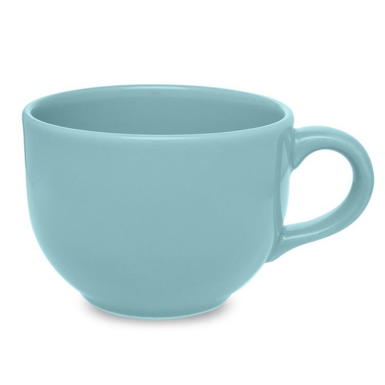 Caneca de Ceramica Jumbo 740ml Azul Claro 075922 - Biona