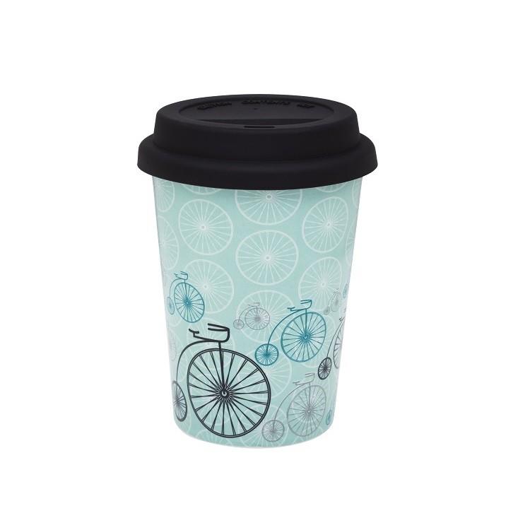 Copo de Ceramica para Cafe 300ml Verde Claro - Oxford