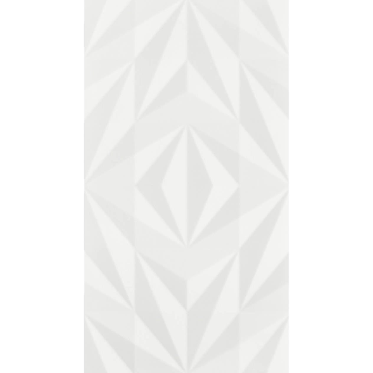 Revestimento 325x59 cm Brilhante Losango Branco - 8040177 - Eliane