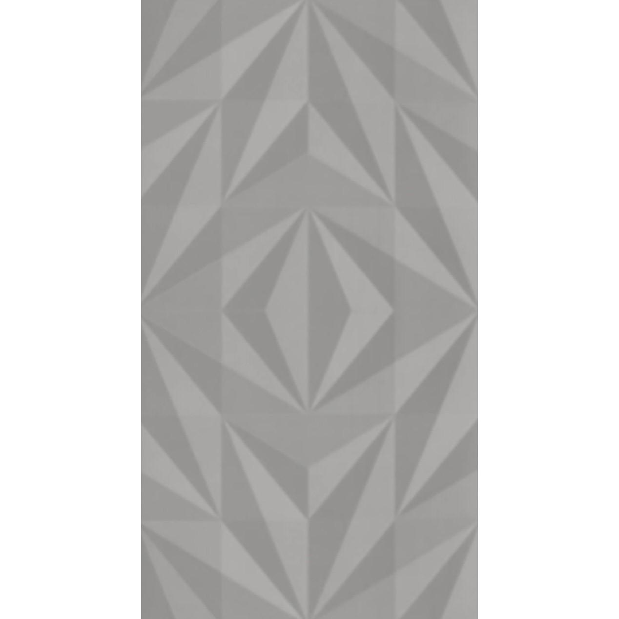 Revestimento 325x59 cm Acetinado Losango Cinza - 8040179 - Eliane