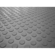 Piso Laminado Moeda PVC Cinza 1,6 mm - 294101 - Kapazi