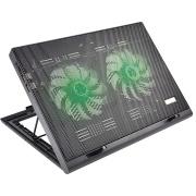 Suporte Cooler para Notebook Multilaser Warrior Power Game Preto - AC267