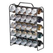 Porta-capsula de Café Nespresso para 50 Cápsulas Prata - Future