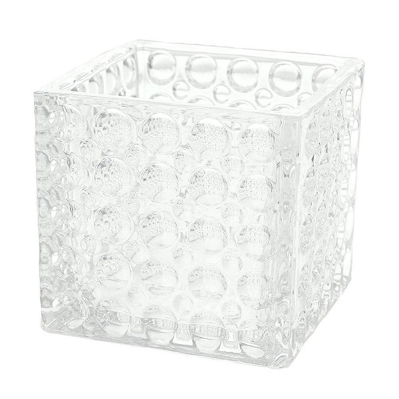 Vaso Decorativo de Vidro 10cm Transparente