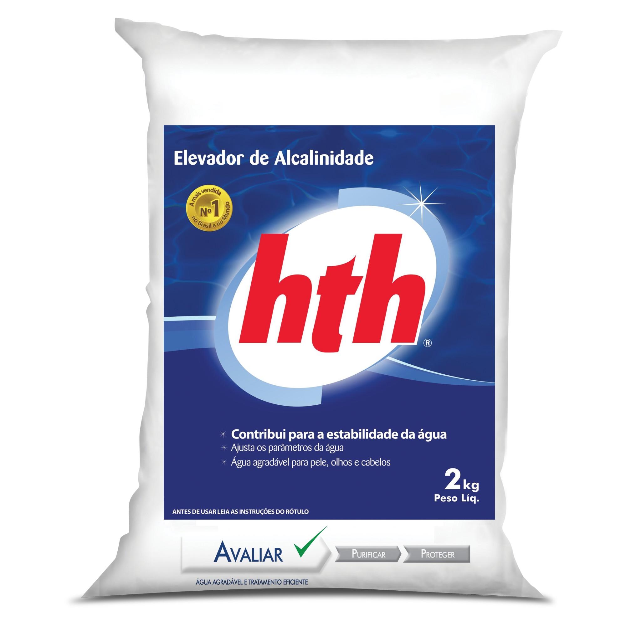 Elevador de Alcalinidade 20kg Contribui para Estabilidade da Agua - Hth