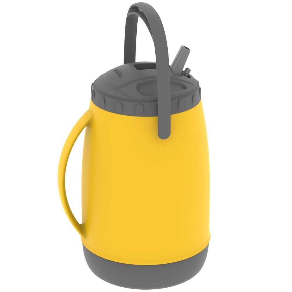 Botijao Termico 25L Amarelo - Soprano