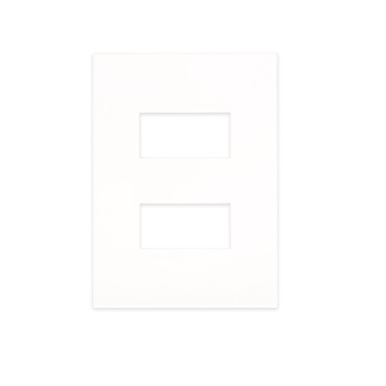 Placa 4 x 2 Retangular 1 1 Posto Separado Branco - Arteor - Legrand