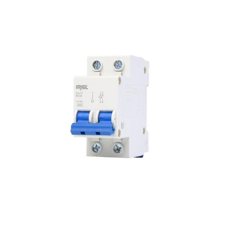 Disjuntor DIN Bipolar 127220V 10A Tipo C - 5SJ12107MB - Iriel