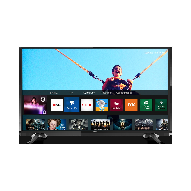 Smart TV LED 43 Philips Full HD Wi-Fi 2 HDMI 2 USB - 43PHG518378