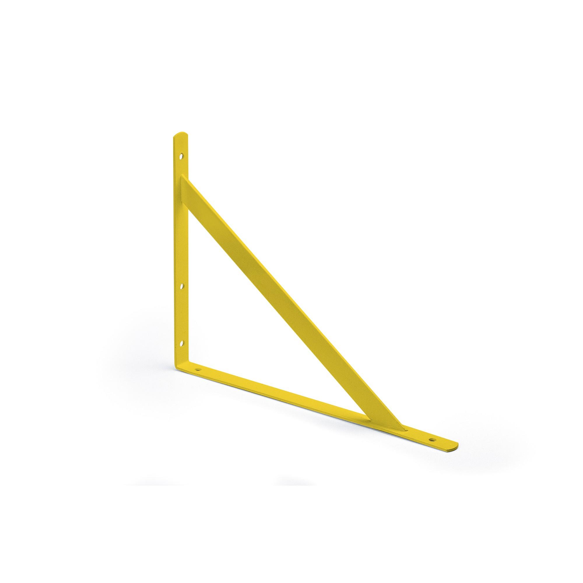 Mao Francesa de Aco Parafusar 1 Unidade 27cm Amarelo - Fico