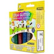 Cola Glitter 6 Cores 23g Cada - Acrilex