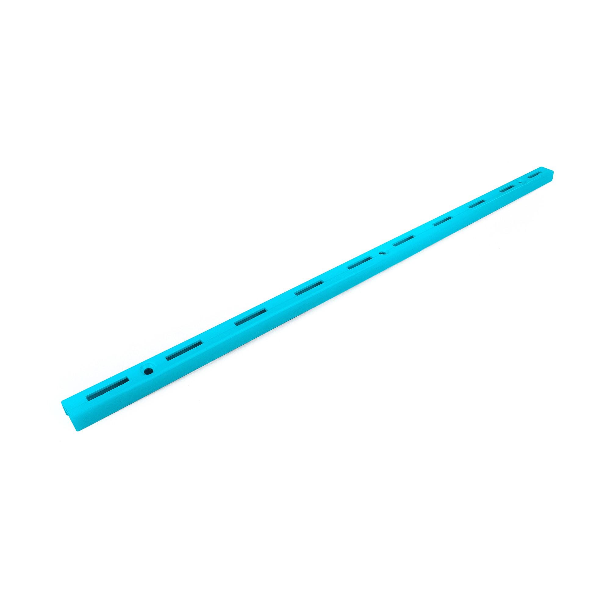 Trilho para Prateleira de Aco Encaixe Simples 50cm Azul acqua - Fico