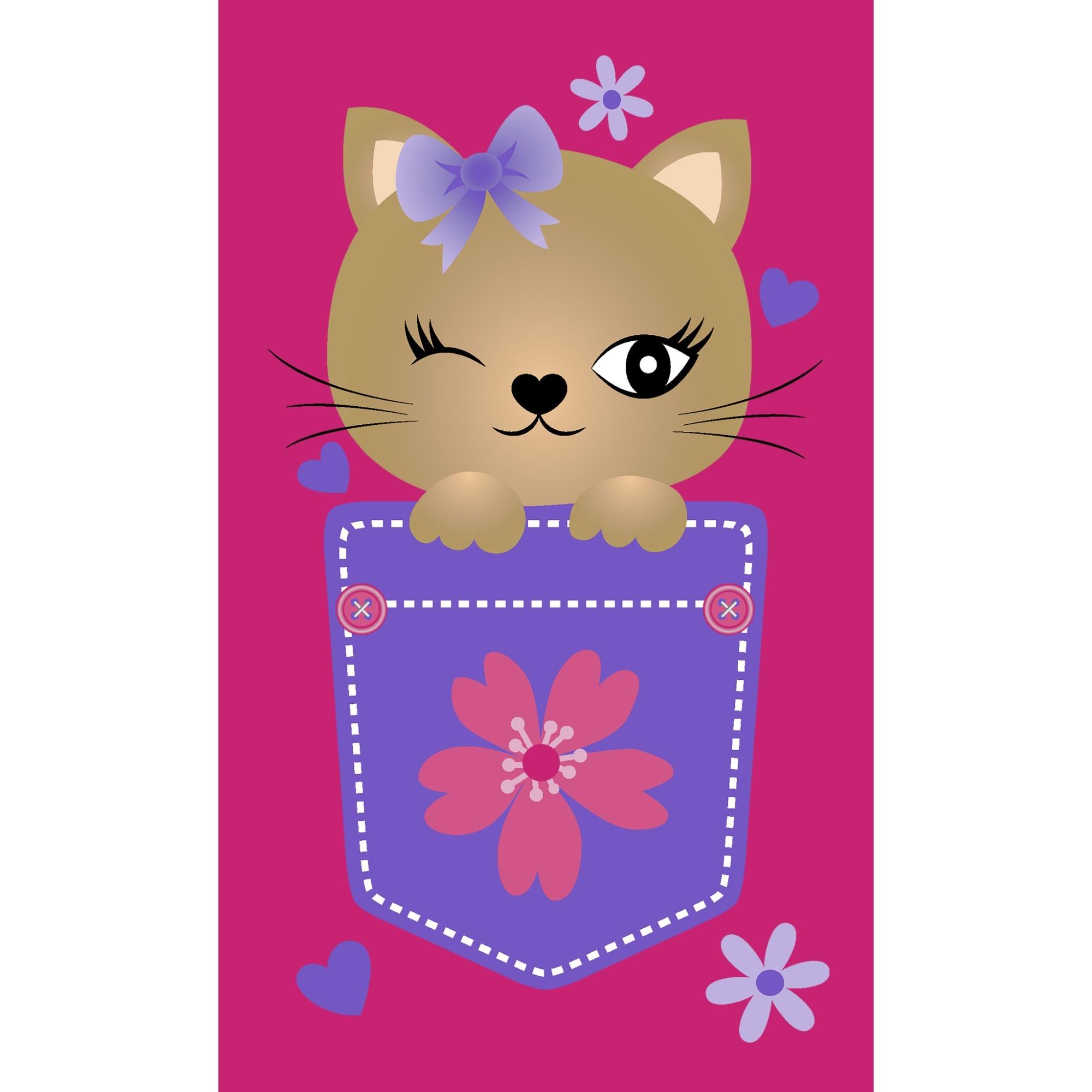 Toalha de Visita Aveludada Mao Ou Lavabo Infantil 100 Algodao 30x50 cm Rosa Pink- Buettner