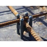 Espaçador Cadeirinha em PVC para Armadura Concreto 25 Peças - Plastin
