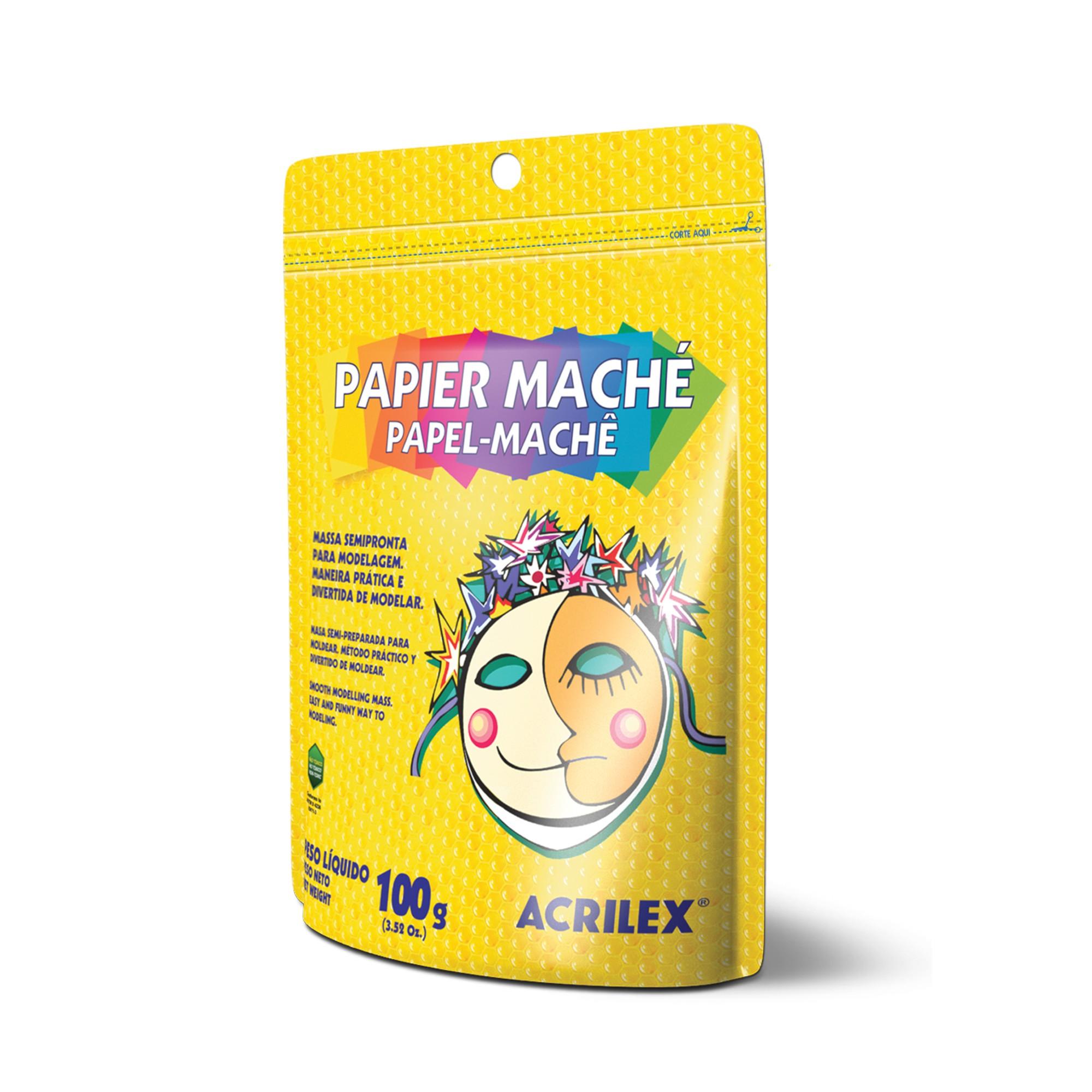 Papel-Mache 100g - Acrilex