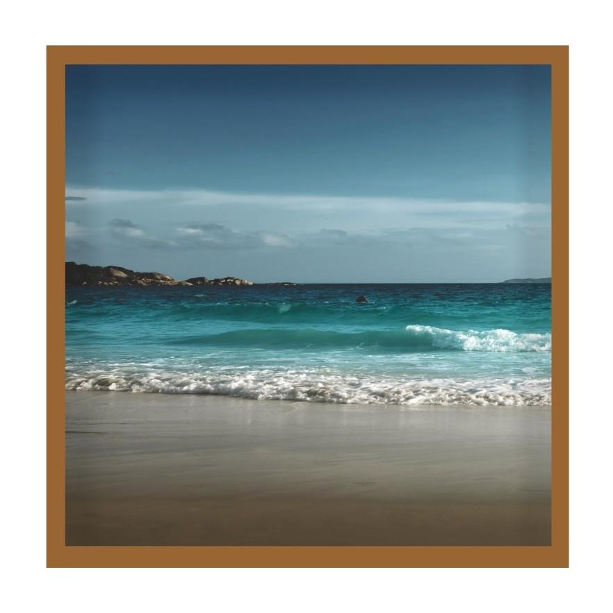 Quadro Decorativo 50x50 cm Mar 2522-1 - Art Frame