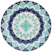 Aparelho de Jantar de Cerâmica 16 Peças Donna Azul - Biona