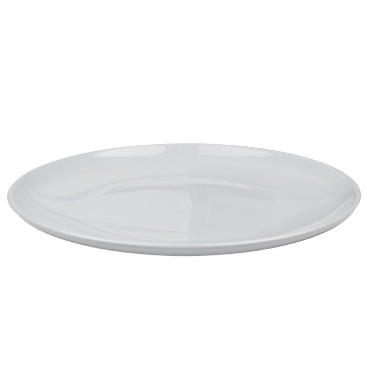 Prato Raso de Melamina Prime Branco 28cm - Euroquadros