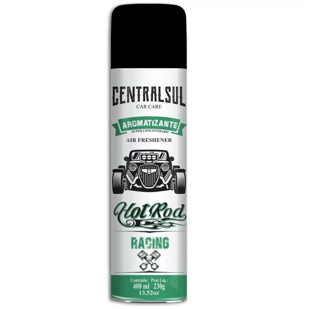 Aromatizante Spray Fragrancia Racing 400ml - 15640-0 - Centralsul