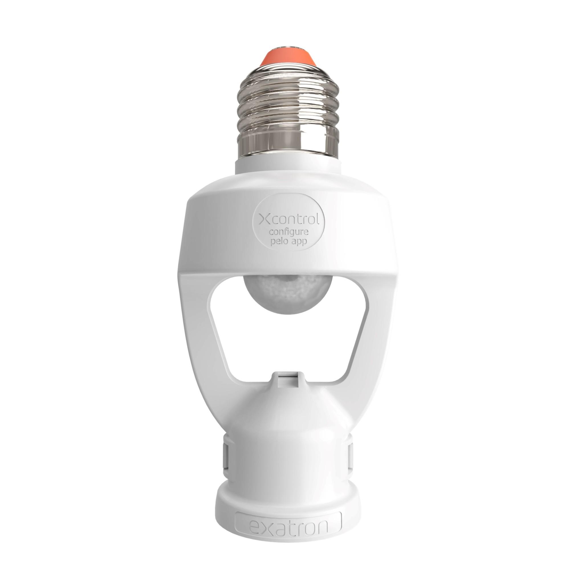 Porta Lampada com Sensor de Presenca E27 - Bivolt - XC - Exatron