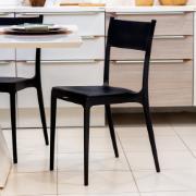 Cadeira Tramontina Diana Polipropireno Preta