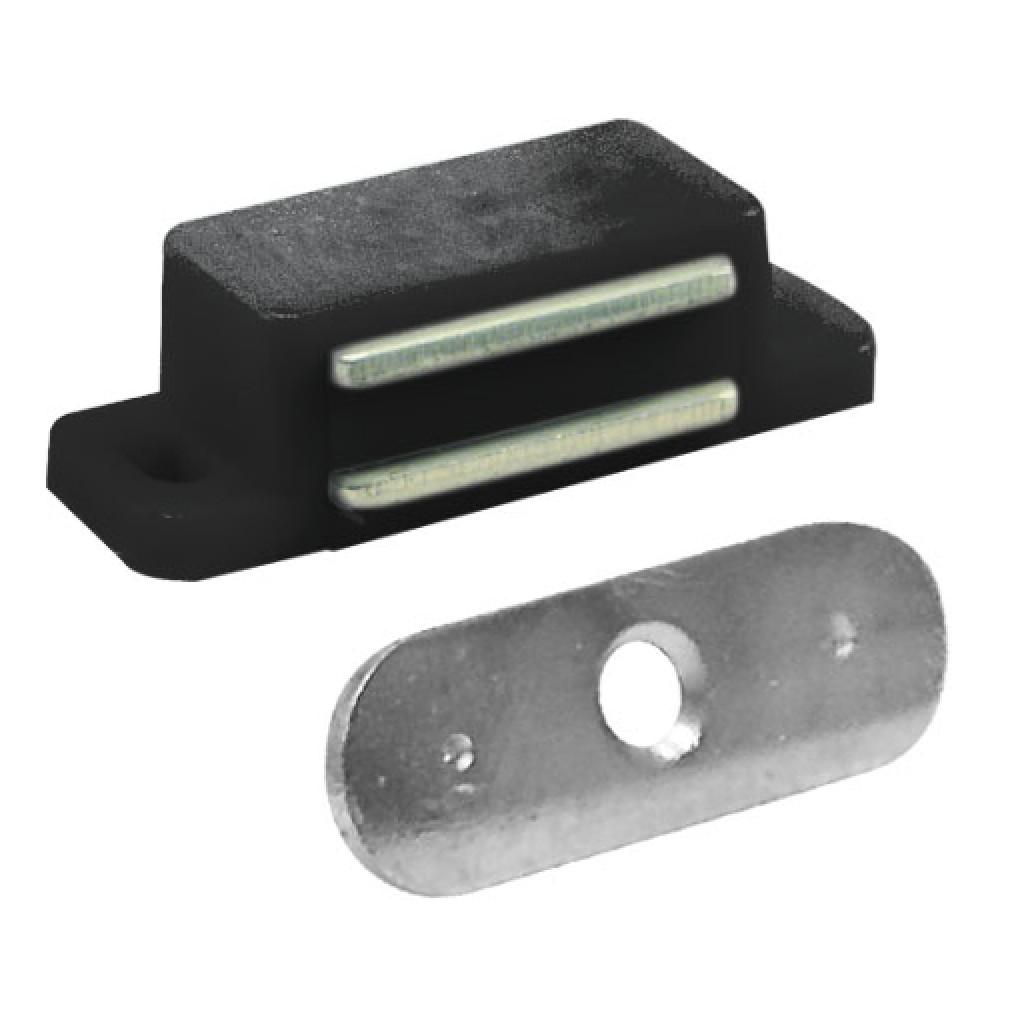 Fecho Magnetico 15 Polietileno e Aco Carbono - 8904 - Bemfixa