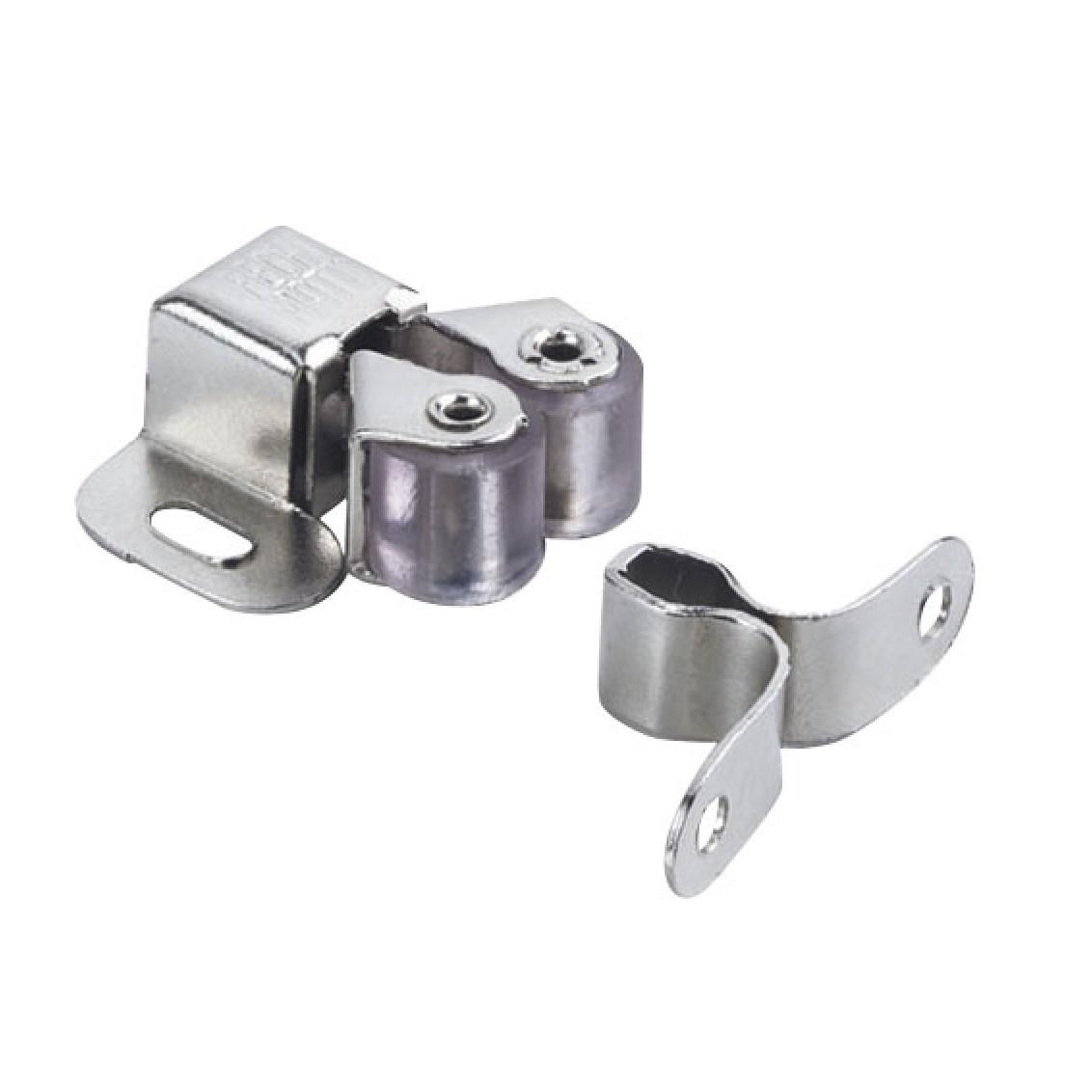 Fecho Rolete Aco e PVC para Portas de Madeira 15 - 8900 - Bemfixa