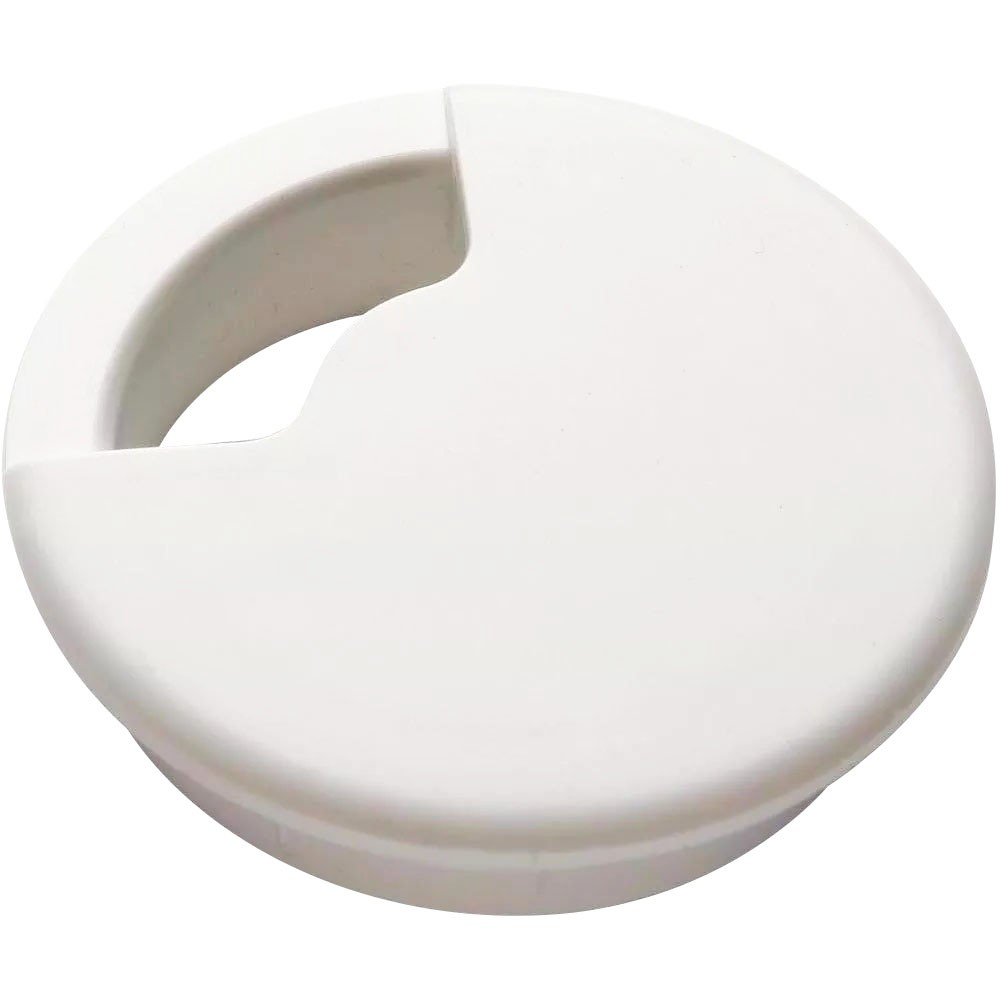 Passa Fio para Moveis 60 mm Branco - Bemfixa