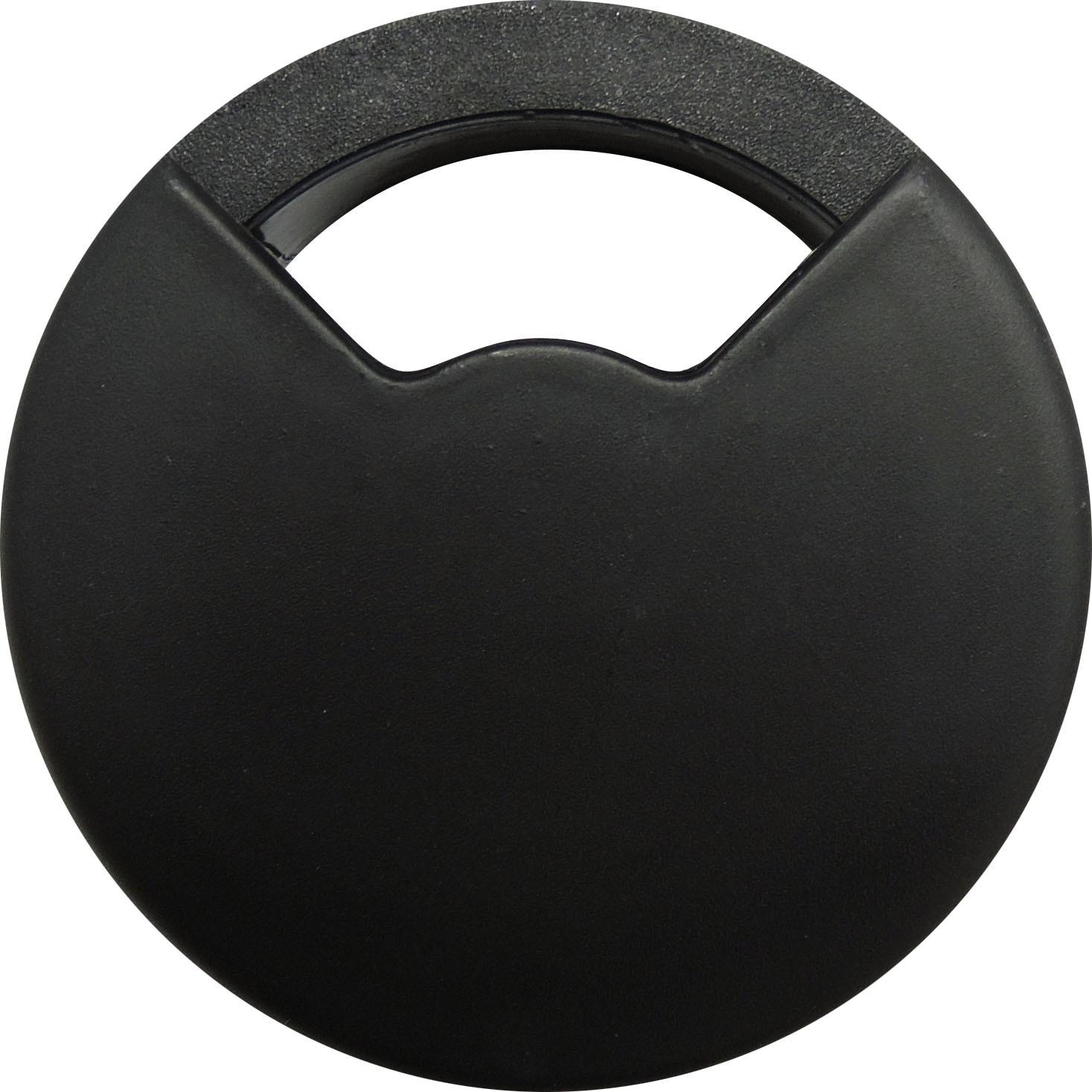 Passa Fio para Moveis 60 mm Preto - Bemfixa