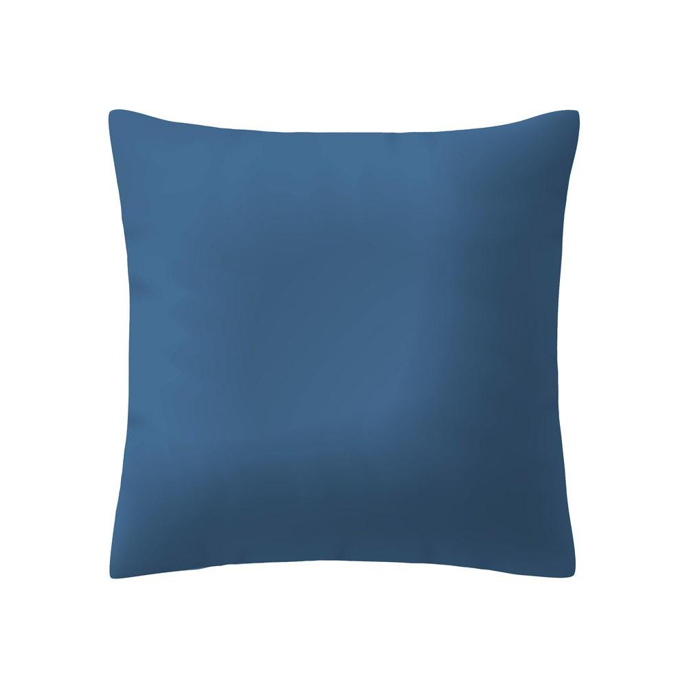 Almofada Madri Basic Lisa 40 x 40 cm Azul - Santista