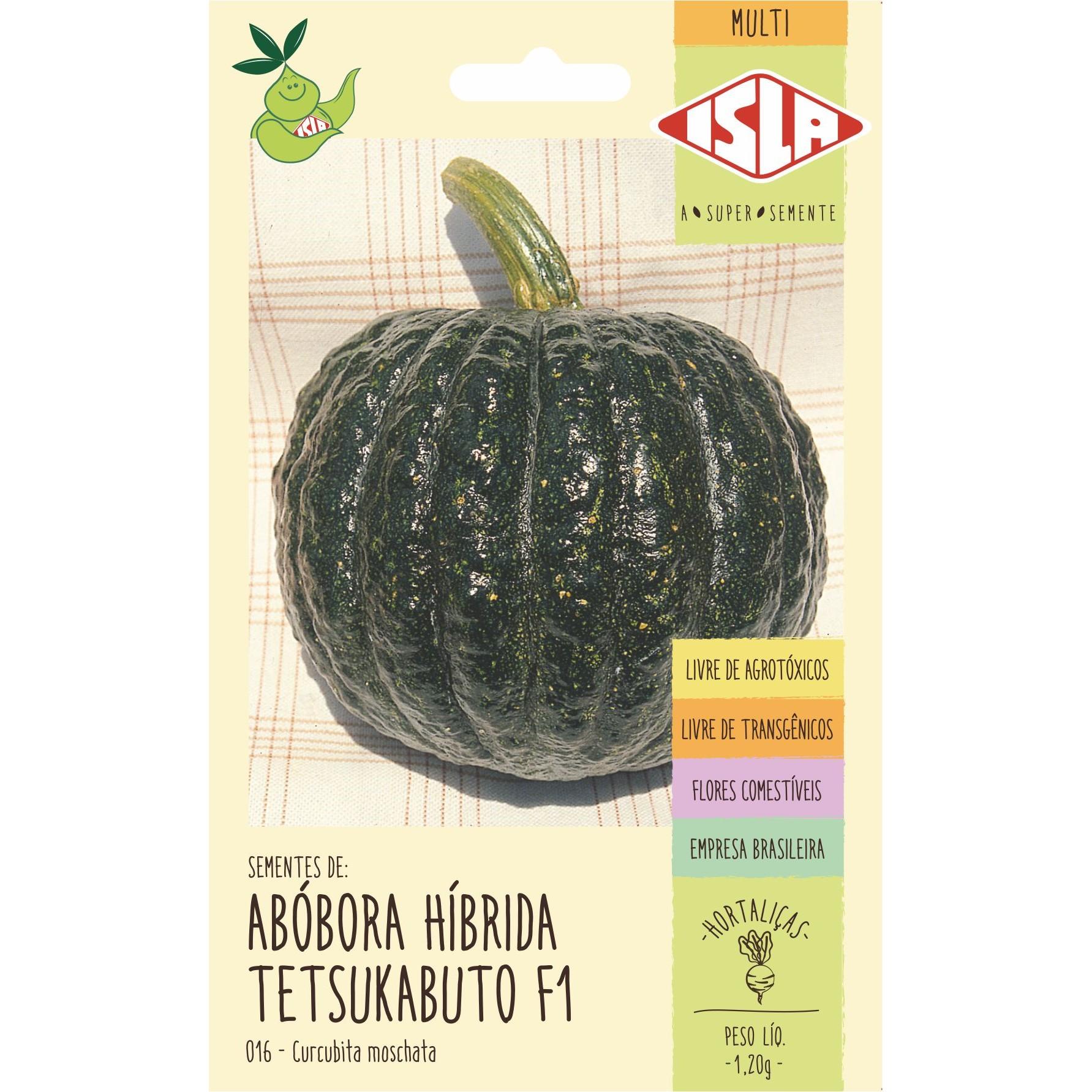 Semente Hortalica Abobora 0012Kg Envelope 1621 - Isla
